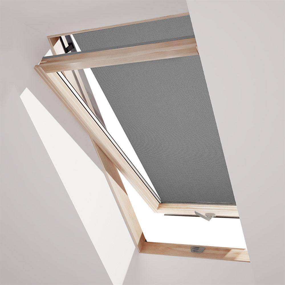 dachfenster markise hitzeschutz f r velux dachfenster ggl gpl ggu gpu schwarz sonnenschutz hh. Black Bedroom Furniture Sets. Home Design Ideas