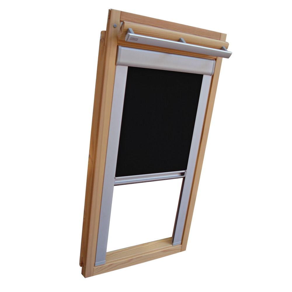 schwarz Dachfensterrollo Verdunkelung für Velux Dachfenster VL//VF//VT