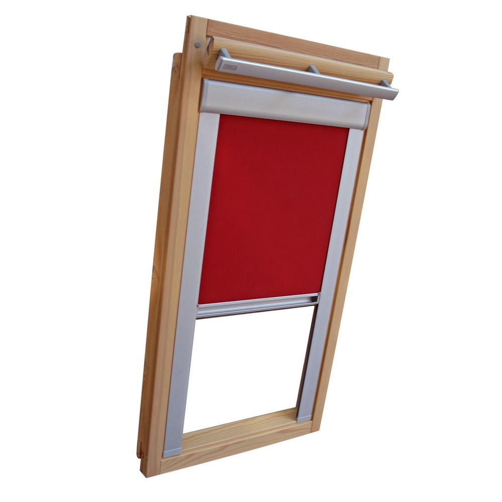 verdunkelungsrollo rollo dachfensterrollo f r velux vu vl y vku weinrot sonnenschutz hh. Black Bedroom Furniture Sets. Home Design Ideas