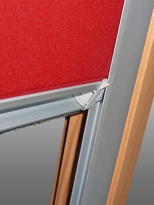 Verdunkelungsrollo mit Schienen für Velux-Dachfenster GGU//GPU//GHU// in lila
