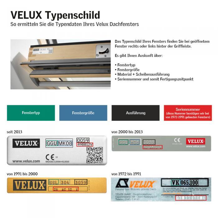 Verdunkelungsrollo Rollo Dachfensterrollo für Velux GGL/GPL/GHL - dunkelbraun - Sonnenschutz-HH