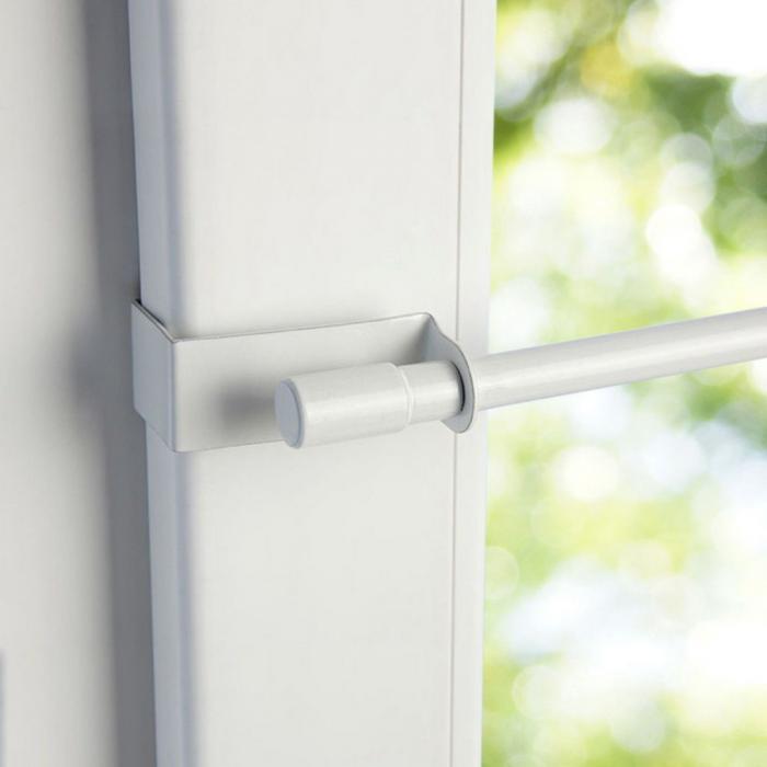Gardinenstange Fenster Klemmen : klemmstange vitragestange ausziehbar gardinenstange ~ Watch28wear.com Haus und Dekorationen